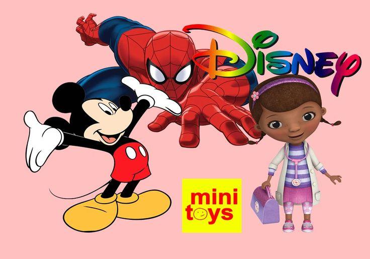 ★ 10 Disney Zaini Surprise Eggs ★ Mickey Mouse ★ Doc McStuffins ★ Ultimate Spiderman ★