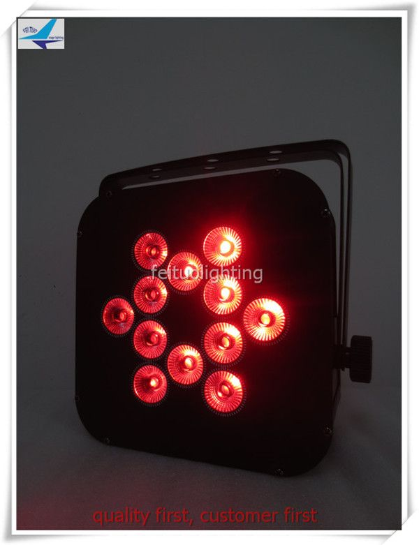 Popular lot Disco club decoration dmx led par xw rgbwa uv in battery power wireless dmx led