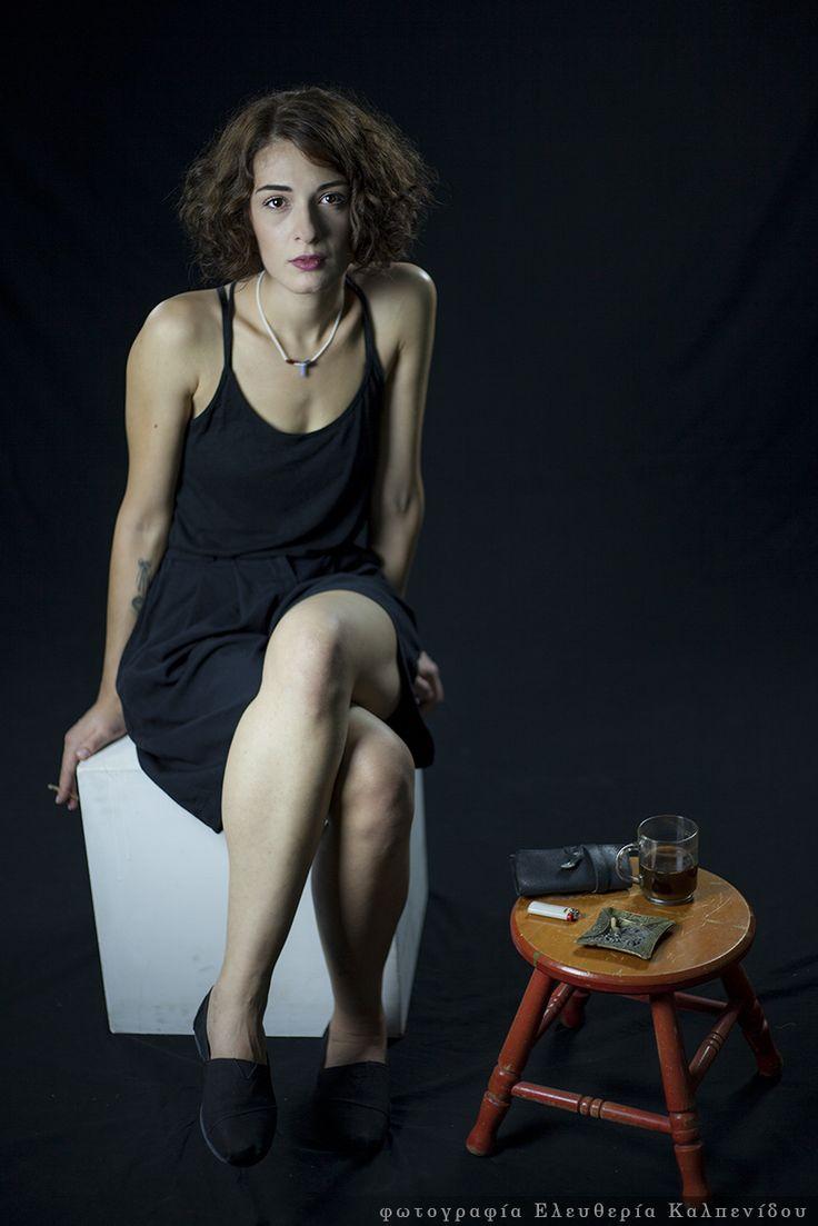 Portraits of Athina Sykioti (actress)