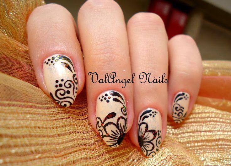 "Nail Art ""Mehndi"""
