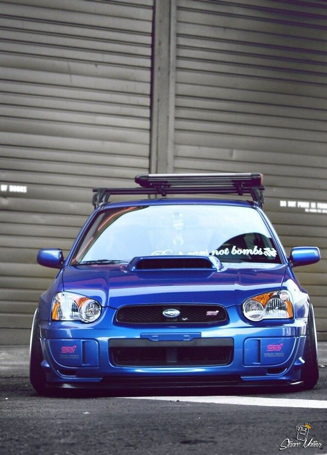 "tunedandracecars: ""Subaru Impreza STI """
