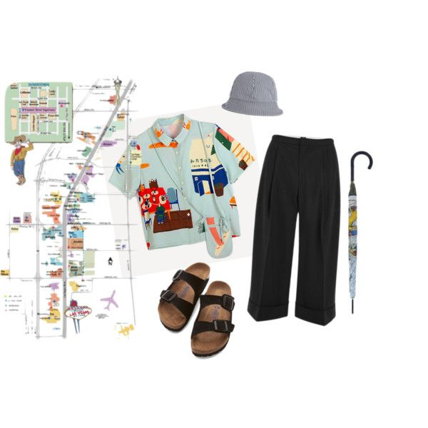 #5 by cici-munada on Polyvore featuring 2nd Day, Birkenstock, Burberry and A.P.C.