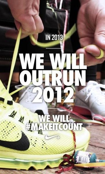 Outrun 2012. #makeitcount #running #inspiration