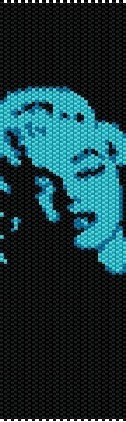 Marilyn bead loom pattern