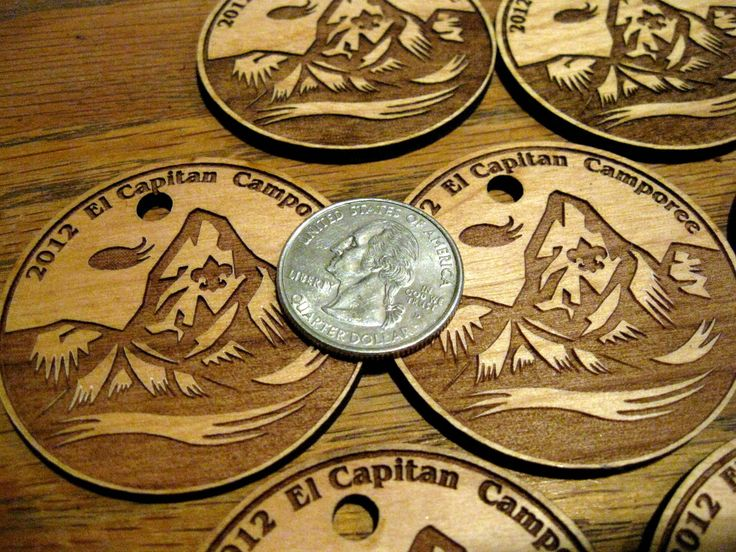 Scout Medals Customized to your Specifications
