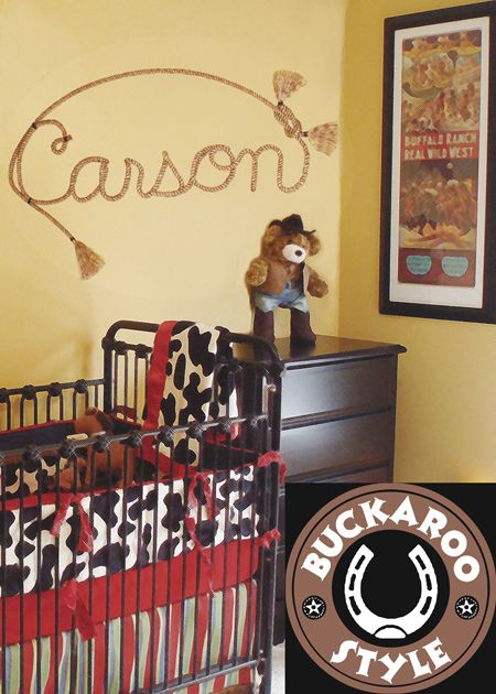 Cowboy themed baby rooms cowboy baby room decor baby for Cowboy themed bedroom ideas