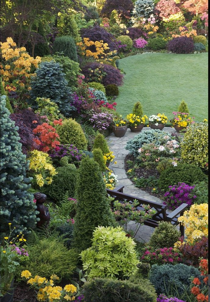 1230 best images about jardin garden on pinterest for Jardin 00 garden