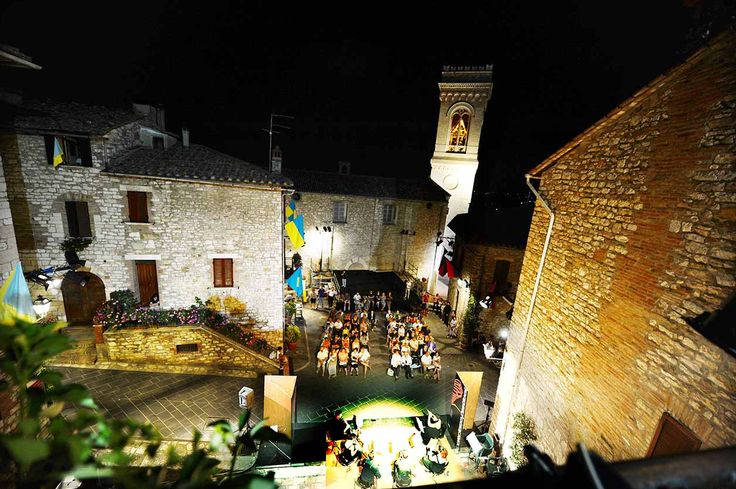 Corciano festival: music in summer in the most beautiful villages of Italy, near Perugia and Trasimeno Lake