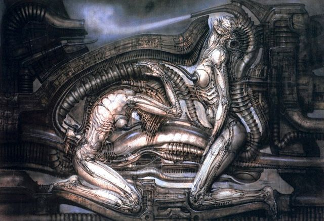 H.R. Giger Art Paintings | what do you think h r giger h r giger