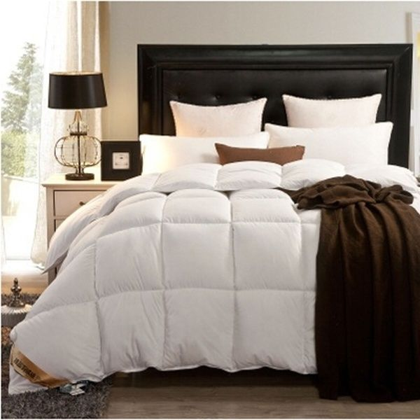 Original 100 Goose Down Comforter Feather Quilt Goose Down King