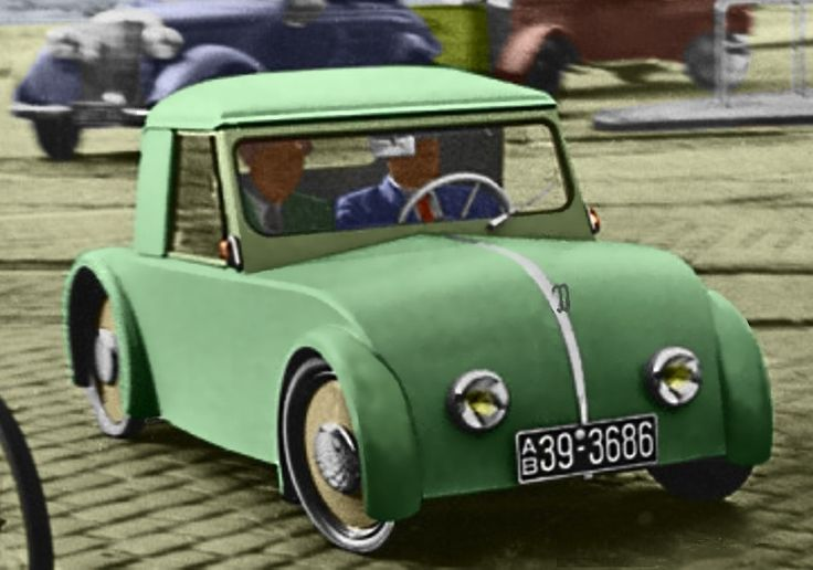 1950 Kersting (German) Micro Car with single cylinder 197cc Air-Cooled Two-Stroke Engine