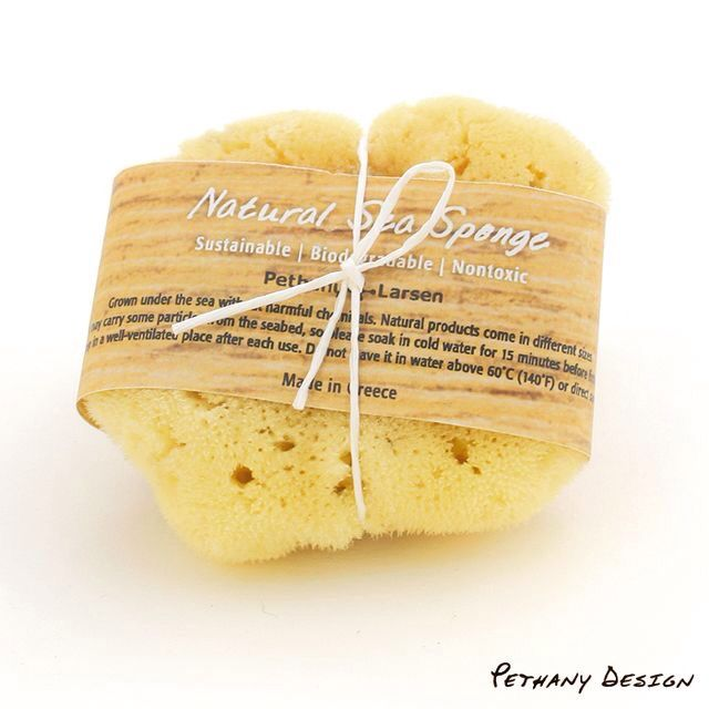 [ Natural Sea Sponge ] Material: Sea Sponge. Designed in 2015 for Pethany+Larsen. Made in Greece.