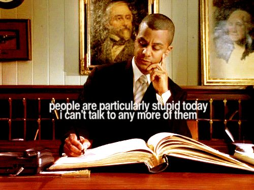 People are particularly stupid today. - Michel, Gilmore Girls