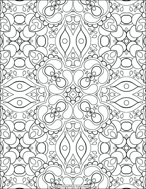 29 Printable Mandala Abstract Colouring Pages For Meditation Stress Relief