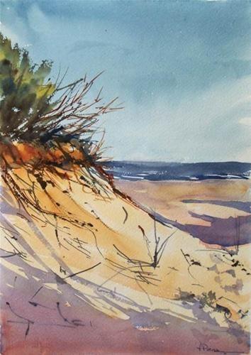 """Dunes II"" - Original Fine Art for Sale - © Fernando Pena"