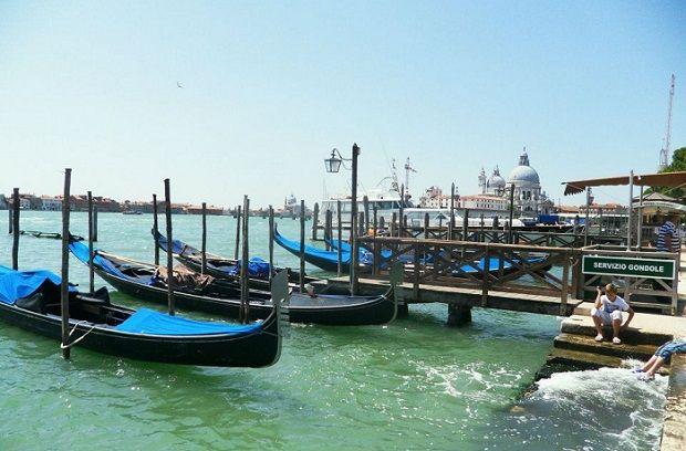 Port in Venice.