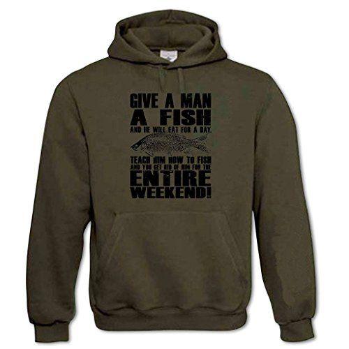 Bang Tidy Clothing Men's Give A Man A Fish Hoodie Olive Green S BANG TIDY CLOTHING http://www.amazon.co.uk/dp/B00TKF8NCS/ref=cm_sw_r_pi_dp_obqovb178G41T