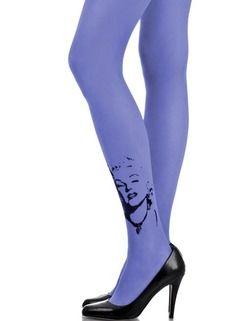 Zohara - Art on tights Marilyn Monroe  tights