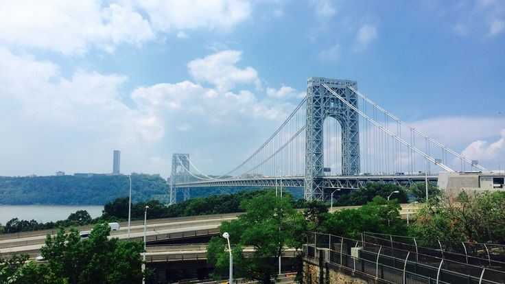 George Washington Bridge #NewYork