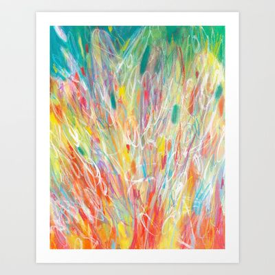 Carnival by Jessica Torrant #abstract #painting #print