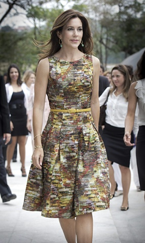 Hugo Boss. Princess Mary of Denmark