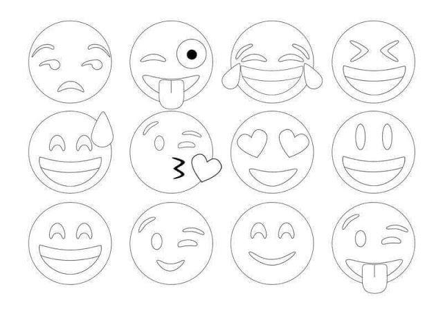 Tareitas Abril 2020 Emojis Emoticonos Imprimir Sobres Plantillas De Emojis