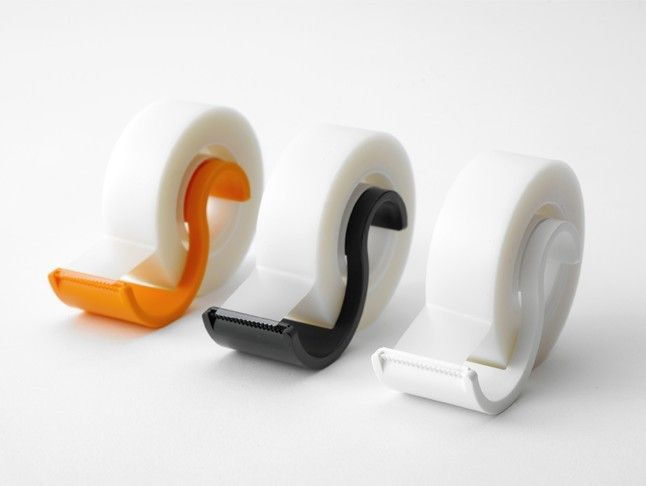 minimal tape cutter designed by Metaphys