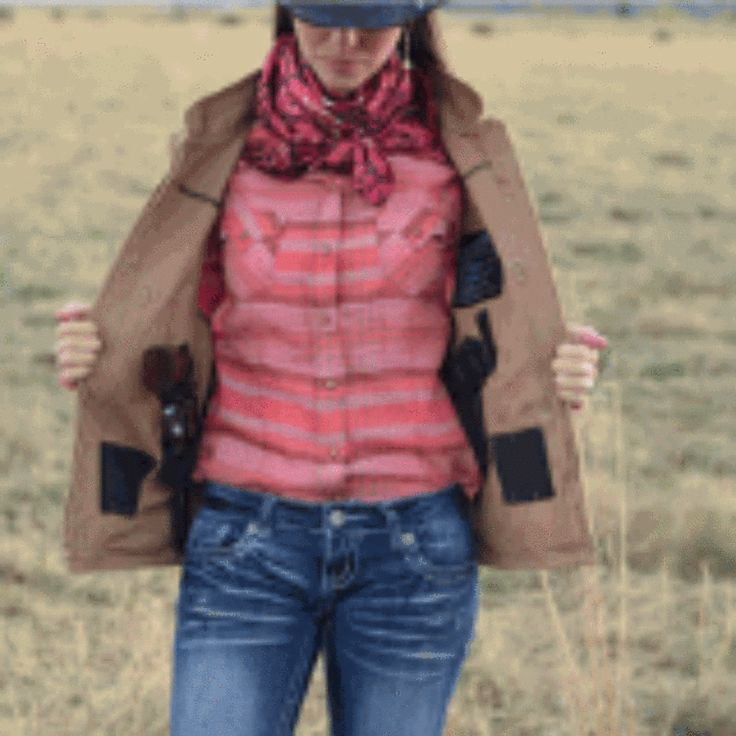 Women's Wyoming Traders Calamity Concealed Carry Vest