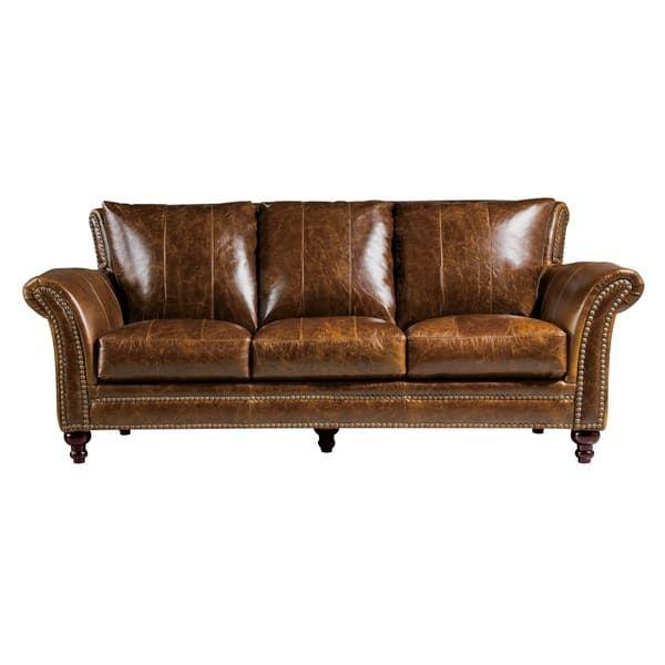 Archibald 100 Top Grain Italian Leather Sofa Home Library Pinterest