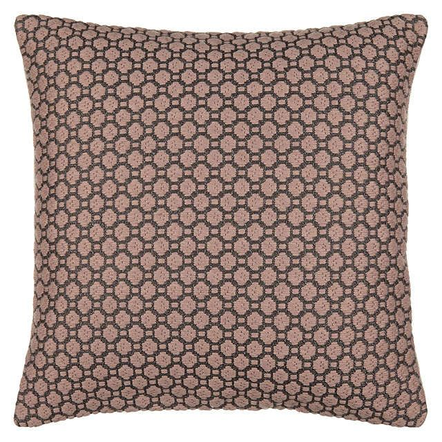 BuyJohn Lewis Croft Collection Weave Cushion, Rosa Online at johnlewis.com