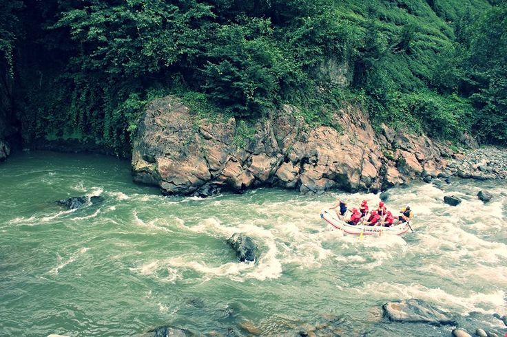 Fırtına Deresi-Rafting / Rize - Turkey