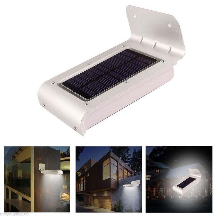 Solar Sensor Security LED Lamp - COOL OFFER
