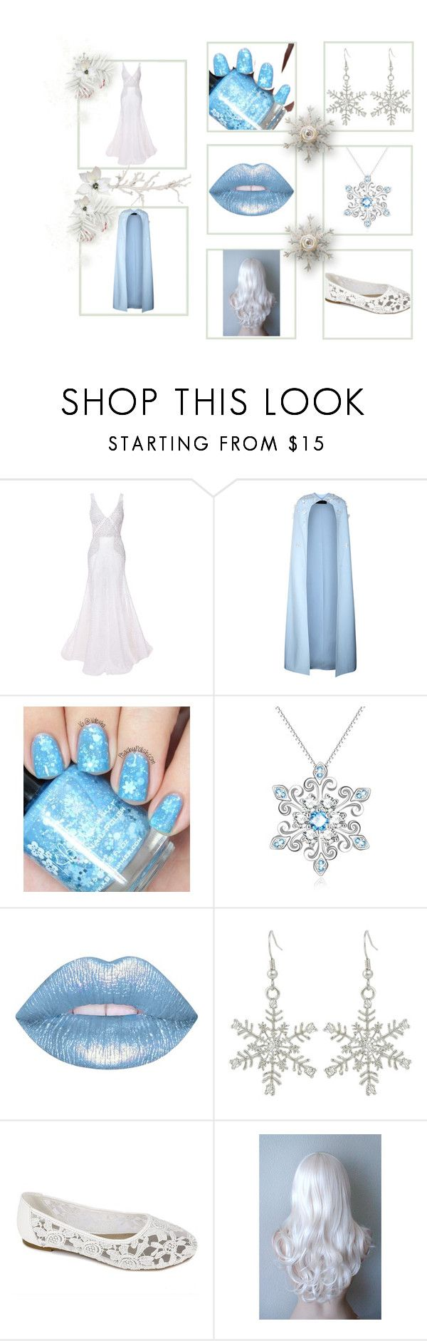 """""""Snow Queen"""" by tova-nighthawk on Polyvore featuring Parlor, Safiyaa and Lime Crime"""
