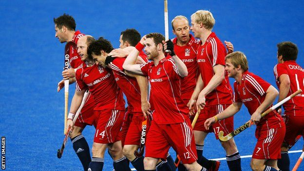 Great Britain men's Olympic hockey team 119 days to go until Baku 2015!