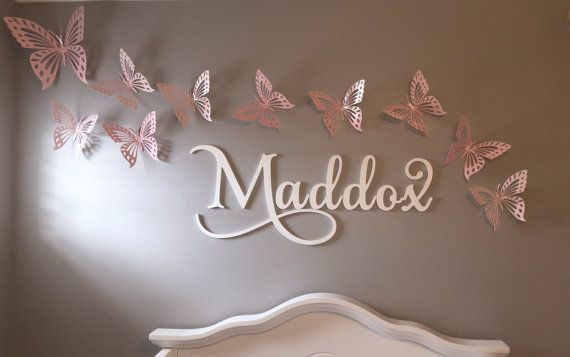 Wooden Letters for Nursery Wooden Signs Alphabeticals Wall