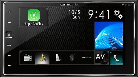 パイオニア、Apple CarPlay対応カロッツェリア AVメインユニット「SPH-DA700」 / 国内初対応製品。iPhoneのSiriを使って音声コントロール可能 - Car Watch