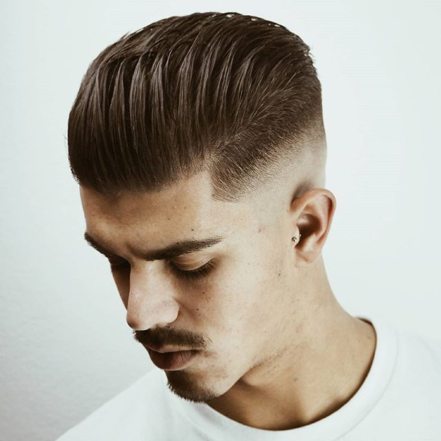 ALL BACK? trend hairstyle 2017??!! or MEDIUM SKIN FADE AM|Cutting Studio Private  model: @DavidSchez13 Tags your friends and follow.   ➖➖➖➖➖➖➖➖➖➖➖➖➖➖➖➖➖➖➖➖ More information, questions o business.  contact@whoiselam.com ➖➖➖➖➖➖➖➖➖➖➖➖➖➖➖➖➖➖➖➖ #straighthair #stunning  #Malaga #Barber #menshairworld #itboy #guyswithcoolhair #ootd #hairstyle #haircut #boystyle #fashionable #Rotterdam #modernsalon #fashionblogger #internationalbarbers #hairmenstyle #fashionista #menshair #c...