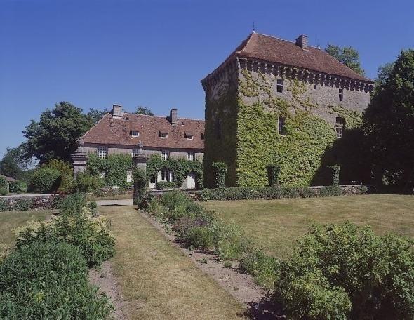 Chateau Arfeuille FELLETIN, Creuse France.