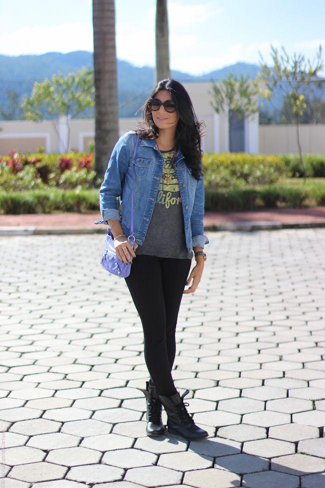 look do dia california tee style fashion moda estilo borboletas na carteira