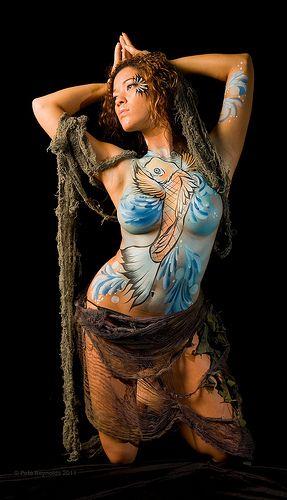 les 170 meilleures images du tableau body painting sur pinterest peintures corporelles. Black Bedroom Furniture Sets. Home Design Ideas