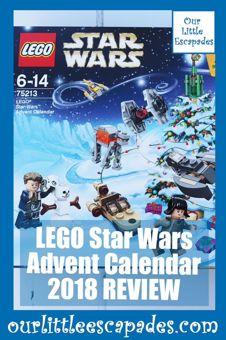 Lego Star Wars Advent Calendar 2018 Review Unboxing The Contents
