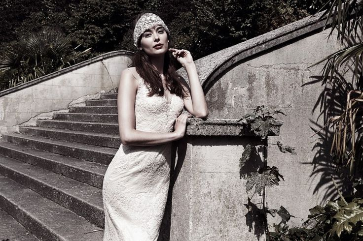 The Yasmin Gown   Catherine Deane Bridal shop now on www.catherinedeane.com #weddingdress #bridal #catherinedeane