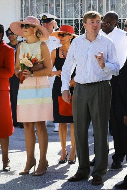 King Willem-Alexander and Queen Maxima visit the caribbean part of the Kingdom from 12 till 21 November
