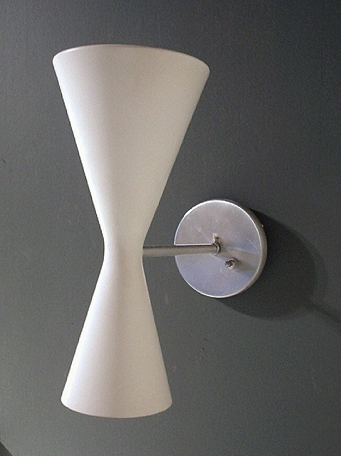 Dual Cone Sconce $125
