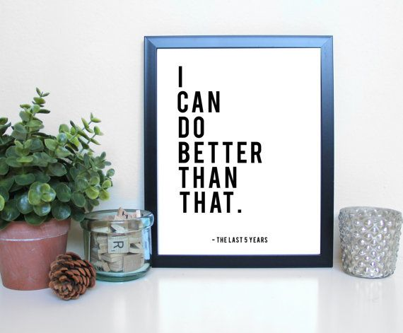 The Last Five Years: I Can Do Better Musical by GreenRoomPrints
