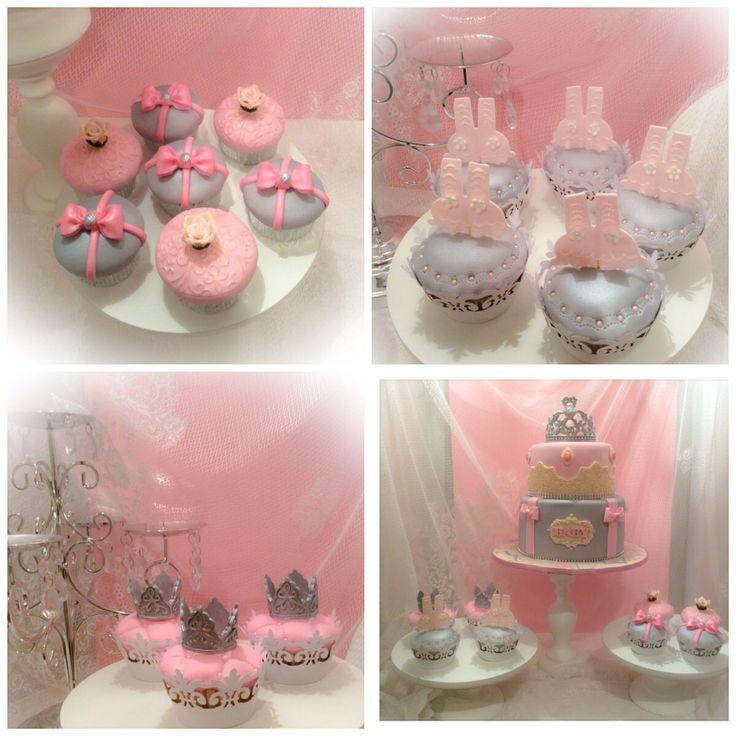 Princess Cake Ideas For Baby Shower : Princess Baby Shower Cupcakes Baby shower ideas ...