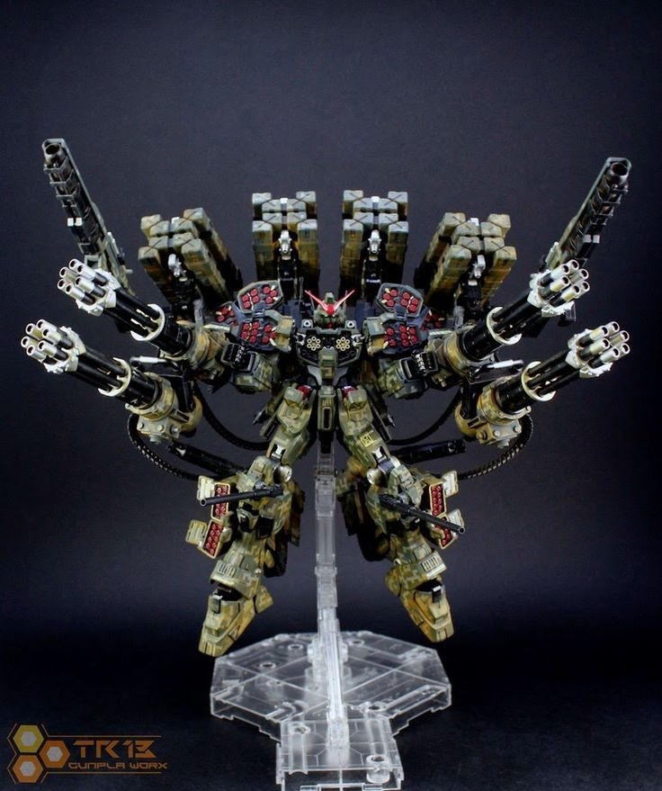 MG 1/100 Heavyarms Kai Dreadnought Full Assault Load-Out Custom Build - Gundam Kits Collection News and Reviews