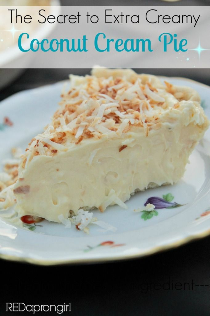 Extra Creamy Coconut Cream Pie