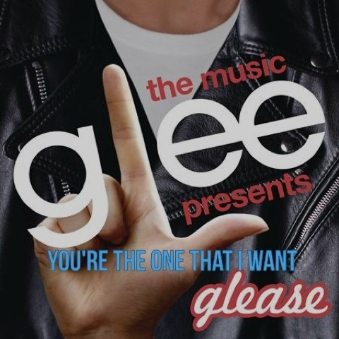 "-- #LyricArt for ""You're The One That I Want (Glee Cast Version)"" by Glee Cast"