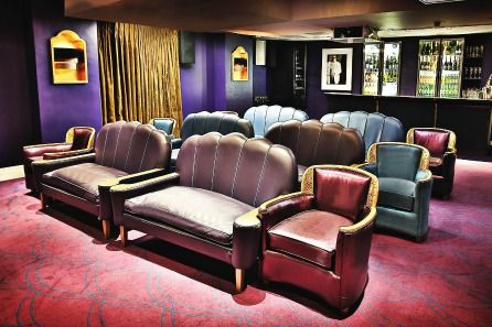 Gourmet Cinema Club Experience with Bubbly for Two. £32 each. Enjoy a classic film screening in a choice of two opulent private cinemas in London  •A glass each of bubbly, tasty sharing platter and edible film tickets  •Available on Saturdays and selected Fridays throughout the year